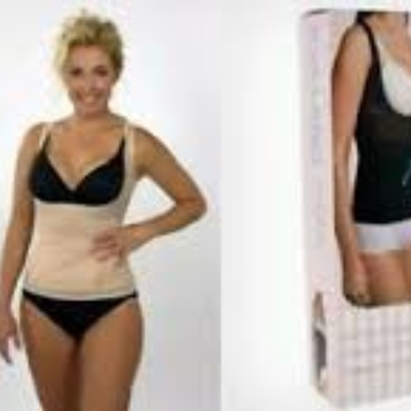 bfa2b6df69 Kymaro body shaper shapewear nude large top only